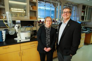 UToledo researchers in lab